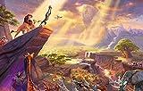IFUNEW Stilvolle WandbilderBrave Lion King and Peter Pan