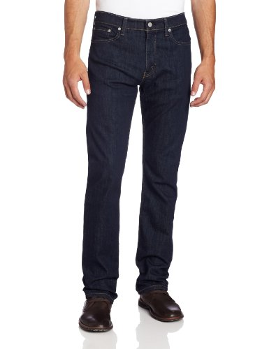Levi's Men's 513 Stretch Slim Straight Jean, Bastion, 36x30