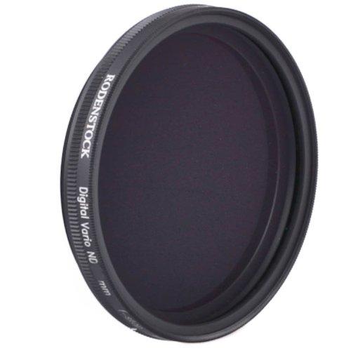 Rodenstock Digital Pro MC 55mm 55 mm Vario Graufilter (ND-Filter, Neutraldichtefilter) verstellbar +1,5 bis +5 Blenden - mehrfachvergütet