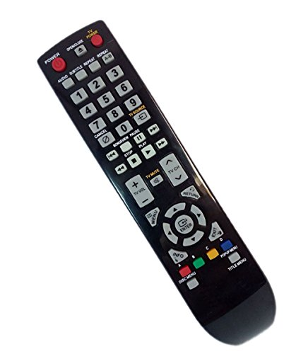 Replaced Remote Control Compatible for Samsung BD-P1600/XAZ BDP4600/XEC BD-P3600/XEU BD-P1650A/XEE BDP1590C/XAA BDP1600A/XEF BD Blu-Ray DVD Player Audio System