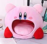 Puppy Pet Cat Dog Soft Nest Dog Bed Bed Cute Kirby Plush Small Pet House Sleeping Mat Pet Supplies Warm Comfortable Bed