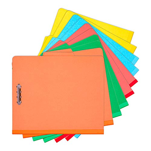 100% Recycled End Tab Pressboard Classification File Folders Large Size 2.5