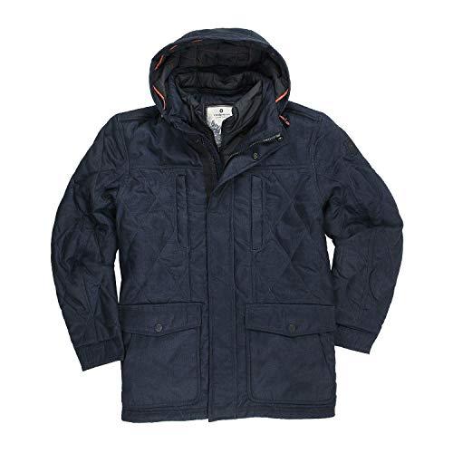 Redpoint Warme Winterjacke 'Peter' für Herren Übergrößen bis 70 Navy, Größe:64