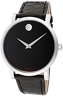 Movado 606112 Men's Red Label Automatic with Genuine Alligator Leather Strap