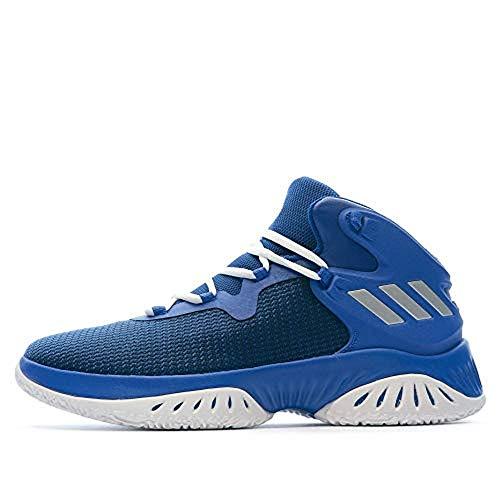 adidas - Explosive Bounce Herren Basketballschuh blau Silber Gr. 50 2/3
