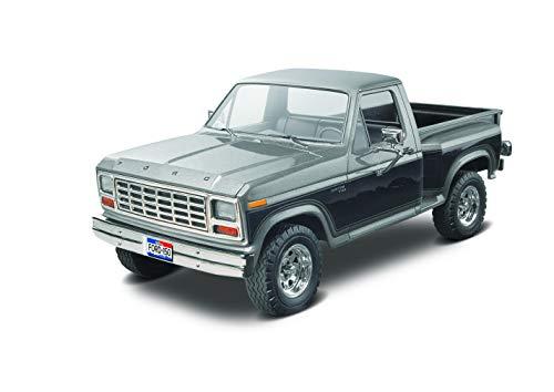 Revell 14360 Ford Ranger Pickup detailgetreuer Modellbausatz, Autobausatz 1:24, Multi