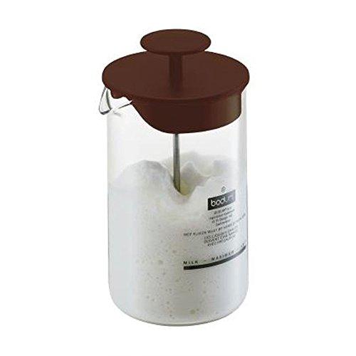Bodum Aerius espumador de leche, color Edición Especial Marrón Chocolate, aprox. 0.8l para hasta 250ml leche