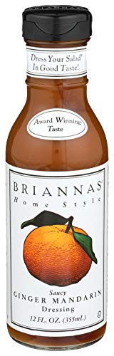 Brianna's, Home Style Dressing, Saucy Ginger Mandarin, 12 oz