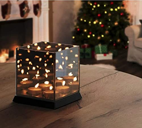 Ecova Infinity Candle - Mirror Candle Holder Tray - 2 x 2