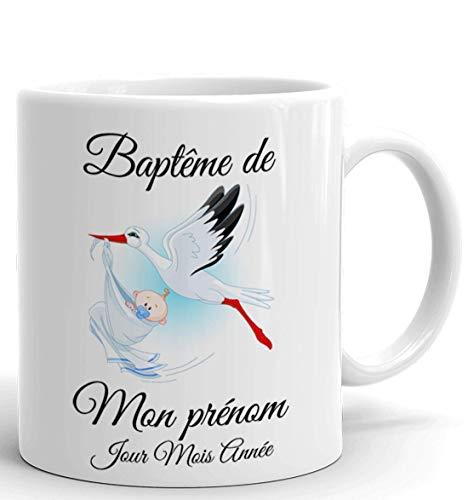 Le mug de baptême personnalisable
