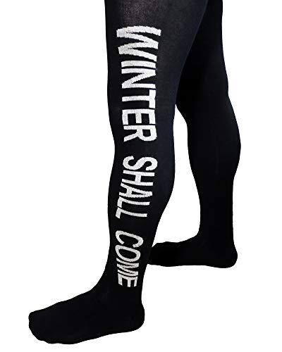 Weri Spezials Herrenstrumpfhose mit Eingriff, Größe:50/52, Farbe:Schwarz/Weiß