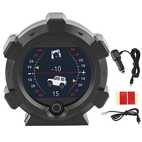 Medidor de pendiente, clinómetro de coche Inclinómetro de coche GPS Indicador de...