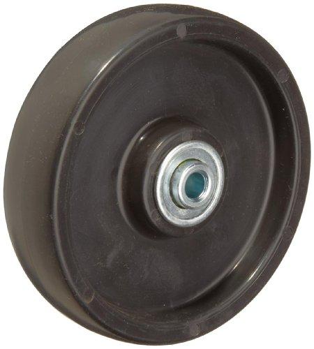 "RWM Casters - POB-0512-06 Polyolefin Wheel, Ball Bearing, 300 lbs Capacity, 5"" Wheel Dia, 1-1/4"" Wheel Width, 1-1/2"" Plate Length"