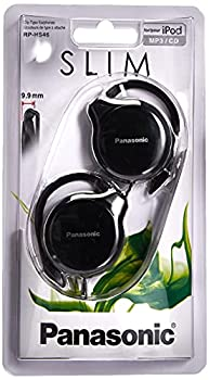 panasonic rp hs46e k slim clip on earphone