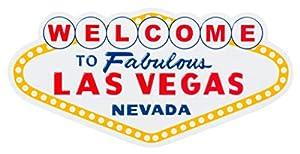 Welcome to Fabulous Las Vegas Nevada Landmark Sign Souvenir Refrigerator Magnet from