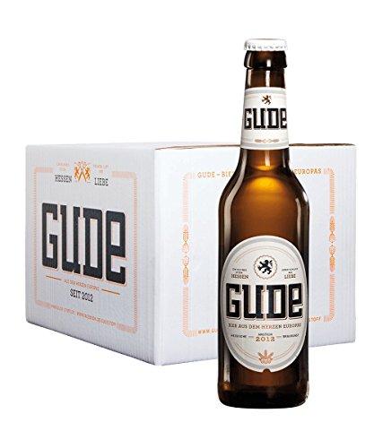 GUDE Bier - Versandkiste - 20 x 0.33l