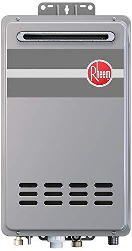 Rheem RTG-95XLN-1 Water Heater, Gray