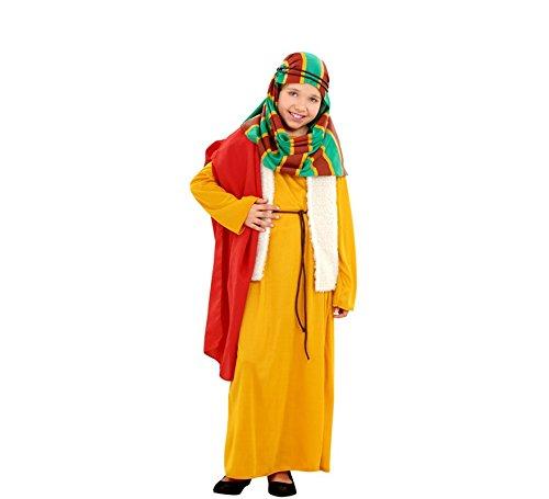 Disfrazzes - Disfraz de hebrea amarilla para niñas de 1 a 2 años