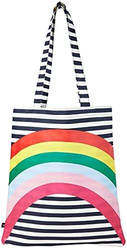 Joules Women's Lulu Shopper Canvas Tote Bag, One Size