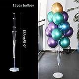 FFDGHB Fête d'anniversaire Ballon Ballon étagère Support Colonne bâton en Plastique Ballon Anniversaire fête décoration Enfants Mariage Adulte