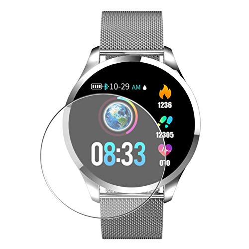 Vaxson 3 Stück Schutzfolie, kompatibel mit Smartwatch smart watch Q9R Q9, Displayschutzfolie Bildschirmschutz Blasenfreies TPU Folie [nicht Panzerglas]