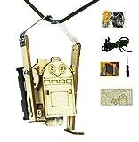 Advantage Rigging Robot DIY kit Toys Build a bot Craft Wood Rope Climbing Robot Monkey Great Gift(b)