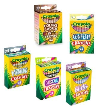 Crayons Ultimate Coloring Add Ons ~ (128 Crayons)