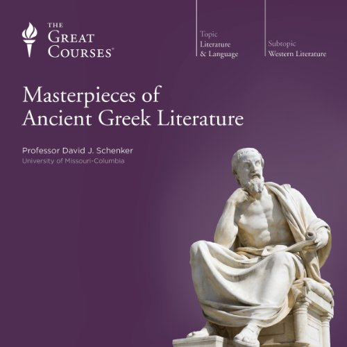 Masterpieces of Ancient Greek Literature audiobook cover art