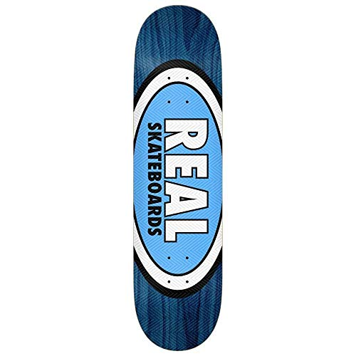 Real Skateboards Tanner Am Edition - Tavola Ovale per Skateboard, Colore: Blu