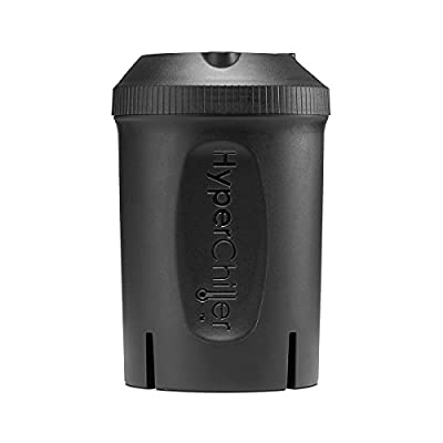 Maxi-Matic HyperChiller Patented Instant Coffee/Beverage Cooler, Ready in One Minute, Reusable for Iced Tea, Wine, Spirits, Alcohol, Juice, 12.5 OZ, Black