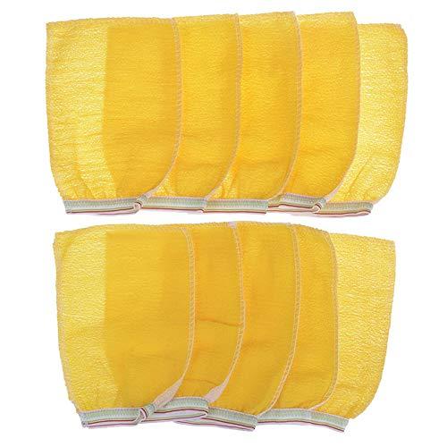 GEEN BAND 10 Stks Korea Hammam Scrub Mitt Peeling Handschoen Exfoliating Tan Removal Mitt Bad Borstels Bad Accessoires