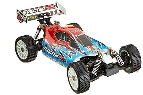 Carson 500202018 500202018-1:8 CY Specter 3.0 V21 ARR, Ferngesteuertes Auto, RC-Fahrzeug, rot|blau
