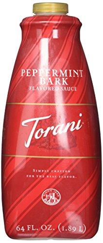 Torani Peppermint Bark Sauce, 64 Ounce