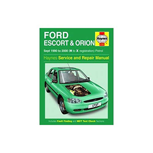 FORD ESCORT & ORION 90-00
