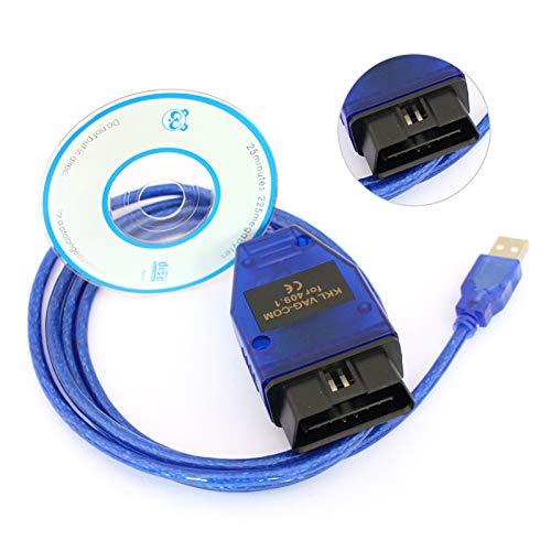 Souarts KKL USB VAG 409.1COM für 409.1 OBD2 Vag 409.1 com Diagnose Codierung für Auto