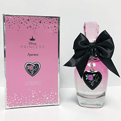 DISNEY PRINCESS AURORA  Eau de Parfum (Agua de perfume) para Mujeres/Chicas/Jóvenes 100 ML (3.4 fl.oz.)  Fragancia Frutal & Oriental para ella de la compañía DESIRE FRAGRANCES INC.