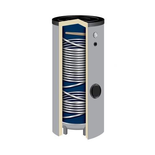 400 Liter Hochleistungs-Solarspeicher SWP2-400 Wärmepumpenspeicher Isoliert 50 mm