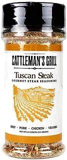 Cattleman's Grill Tuscan Steak Gourmet Seasoning 6.9 Oz. Ultimate Steak Rub