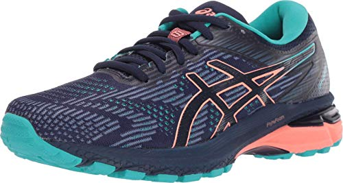 ASICS Women's GT-2000 8 Trail Shoes, 12.5M, Peacoat/SEA Glass