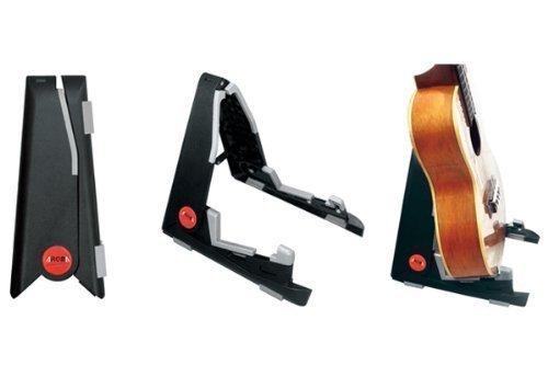 Adjustable folding banjo stand by AROMA for ukulele violin or mandol