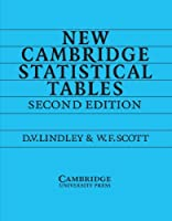 New Cambridge Statistical Tables by D. V. Lindley W. F. Scott(1995-08-25)