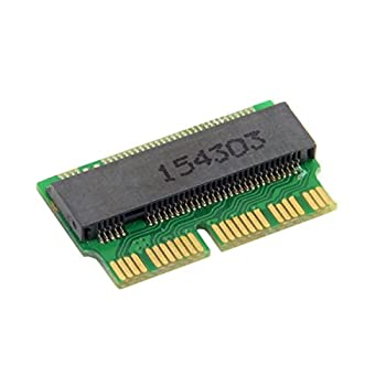 Xiwai 12+16pin 2014 2015 to M.2 NGFF M-Key AHCI SSD Convert Card for A1493 A1502 A1465 A1466