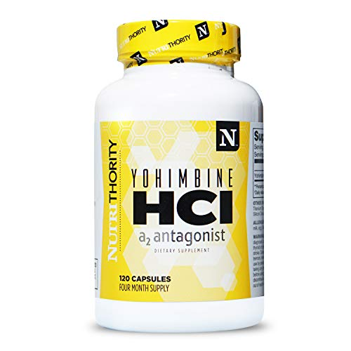 YOHIMBINE HCL- Stubborn Fat Burner and Appetite Suppressant for Men and Women