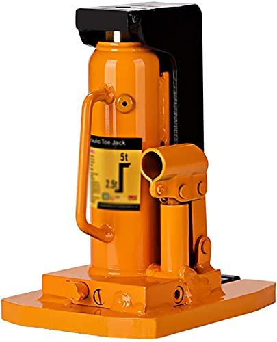 COLiJOL Portátil Jack Claw Jack Vehículo 3 Ton Jack Sello de Aceite Anillo de Sello Mantenimiento de Vehículos Herramienta de Cambio de Llantas (Color: Naranja, Tamaño: Talla Única),Naranja,Ta