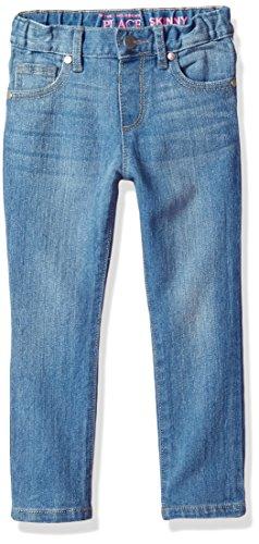 The Children's Place Girls Baby Skinny Jeans, TRUEINDIGO 9502, 2T