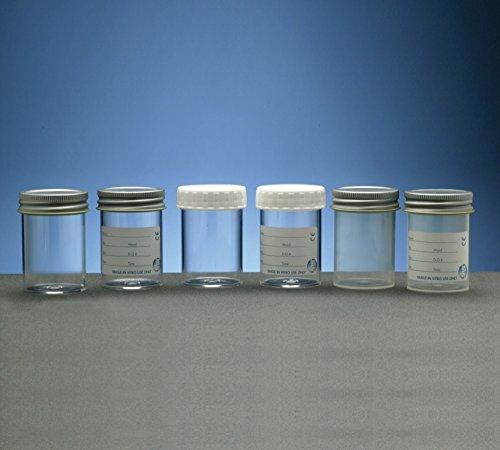 SLS Select Sls7552en polystyrène à nourriture, capuchon en métal, imprimé à imprimer, 100ml (lot de 49)