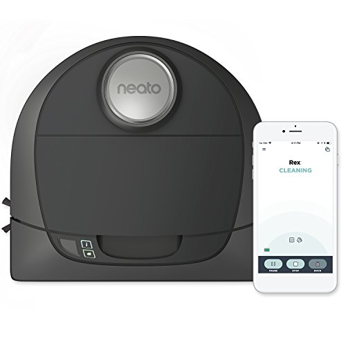 Neato Botvac D5 Connected Laser Guided Robot Vacuum, Pet & Allergy, Works with Smartphones, Alexa,...