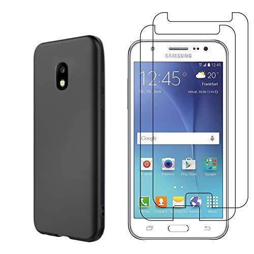 Funda para Samsung Galaxy J5 2017 + Cristal Templado Protector de Pantalla,...