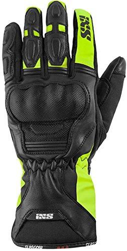 IXS Motorradhandschuhe lang Motorrad Handschuh Glasgow Handschuh schwarz/gelb XXL, Herren, Tourer, Ganzjährig, Polyester