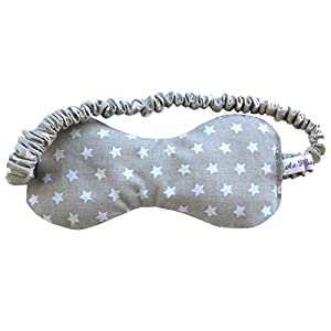 Art-Fabric Bio Schlafmaske Stars reine Baumwolle mit Duft nach Wahl